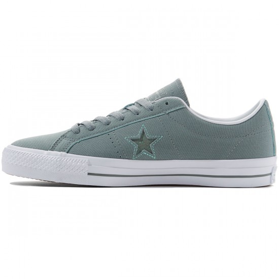Converse One Star Pro Ox Shoes - Lite Green/Peppermint/White - 8.0