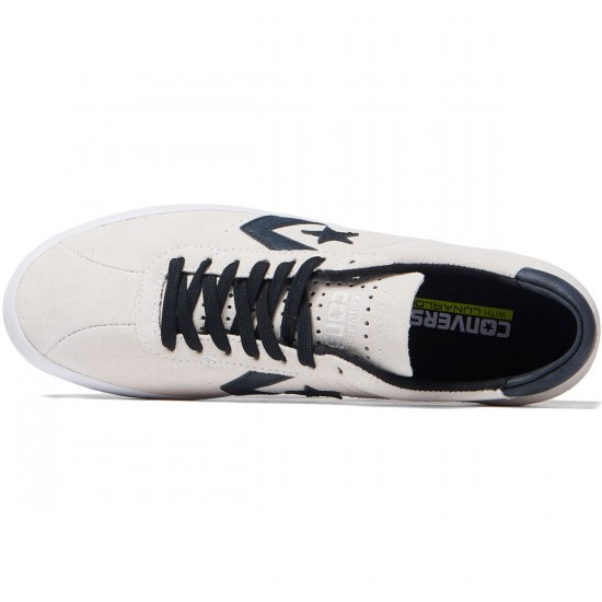 Converse Breakpoint Pro OX Shoes - Suede White/Black/Black - 8.0