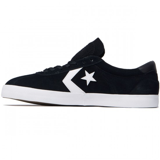 Converse Breakpoint Pro OX Shoes - Suede Black/White/Black - 8.0