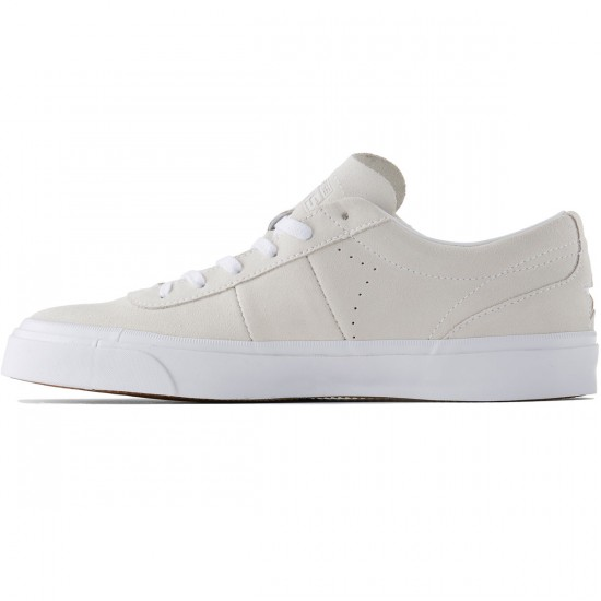 Converse One Star CC OX Suede Shoes - White/White - 8.0