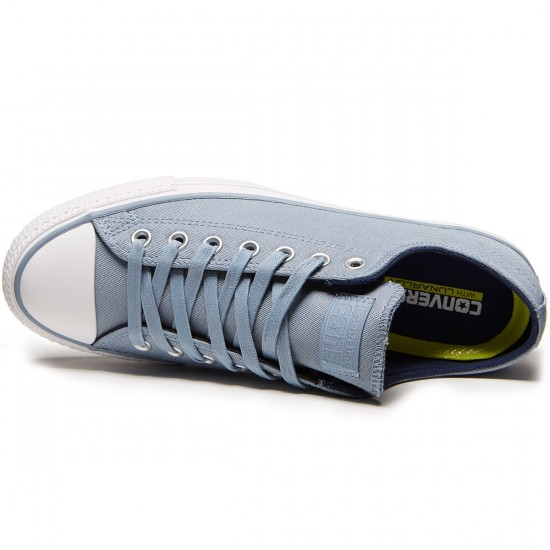 Converse CTAS Pro Suede Backed Twill Shoes - Blue Slate/Midnight Navy - 4.0