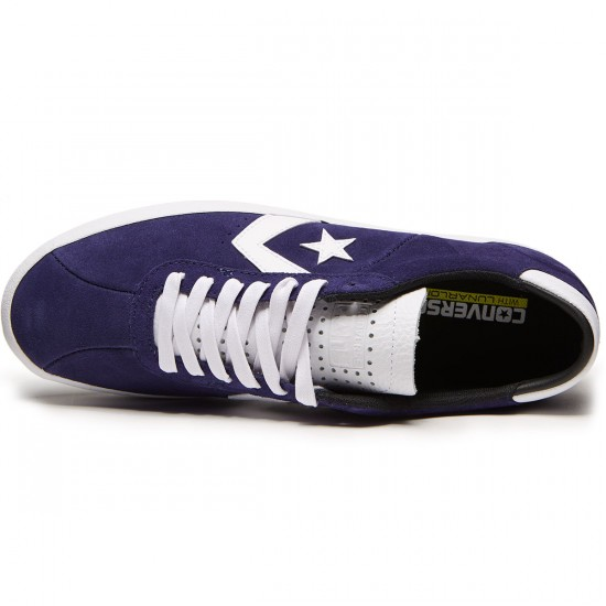 Converse Breakpoint Pro Ox Suede Shoes - Midnight Indigo/White - 8.0
