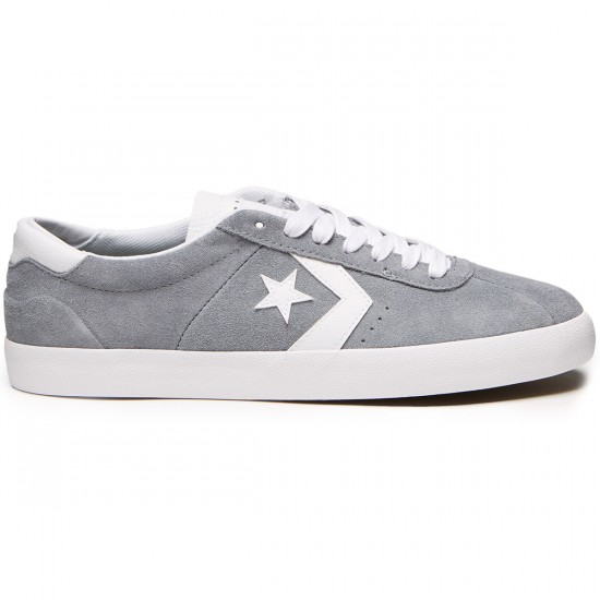 Converse Breakpoint Pro Ox Suede Shoes - Cool Grey/White/White - 8.0