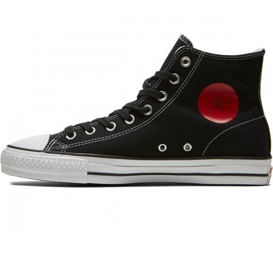 Converse X Chocolate CTAS Hi Pro Kenny Anderson Shoes - Black/Days Ahead/White - 10.0