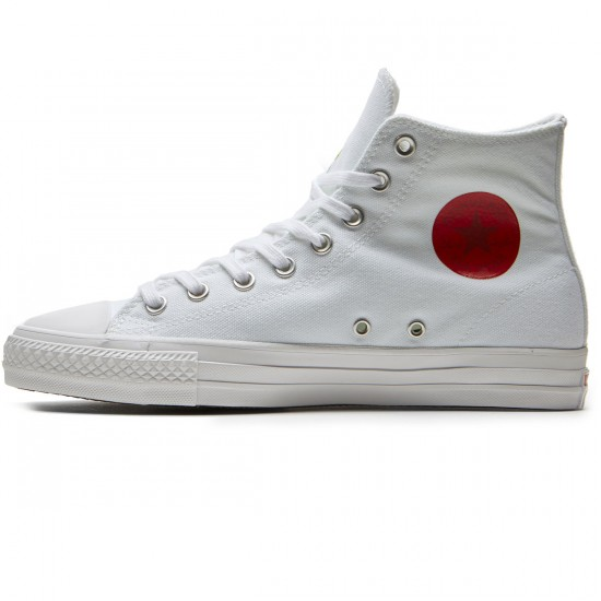 Converse X Chocolate CTAS Hi Pro Kenny Anderson Shoes - White/White/Days Ahead - 10.0