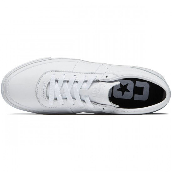 Converse One Star CC Pro Ox Shoes - White/Dolphin/White - 8.0