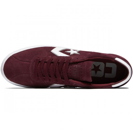 Converse Breakpoint Pro OX Shoes - Deep Bordeaux/Dolphin/White - 8.0