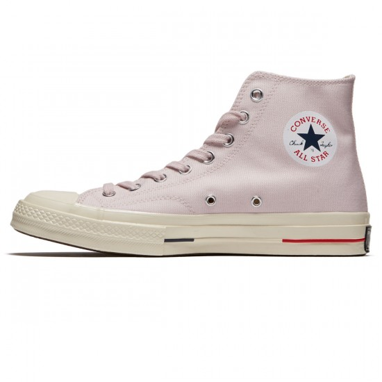 Converse Chuck Taylor All Star 70 Hi Shoes - Barely Rose/Gym Red/Navy - 10.0