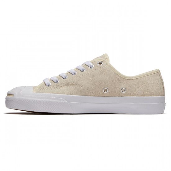 Converse Jack Purcell Pro Shoes - Natural/White/White - 7.0