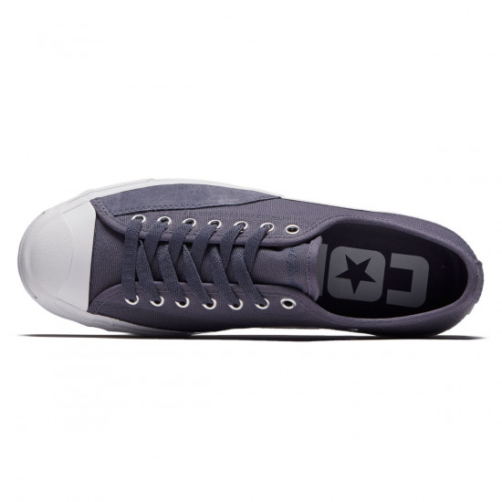 Converse Jack Purcell Pro Shoes - Light Carbon/White - 7.0