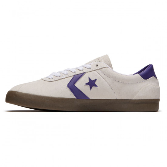 Converse Breakpoint Pro OX Shoes - White/Court Purple/Gum - 8.0