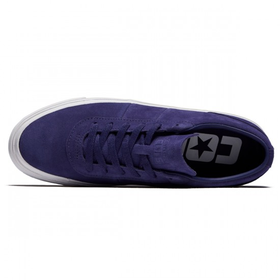 Converse One Star CC Pro Ox Shoes - Japanese Eggplant/White - 8.5