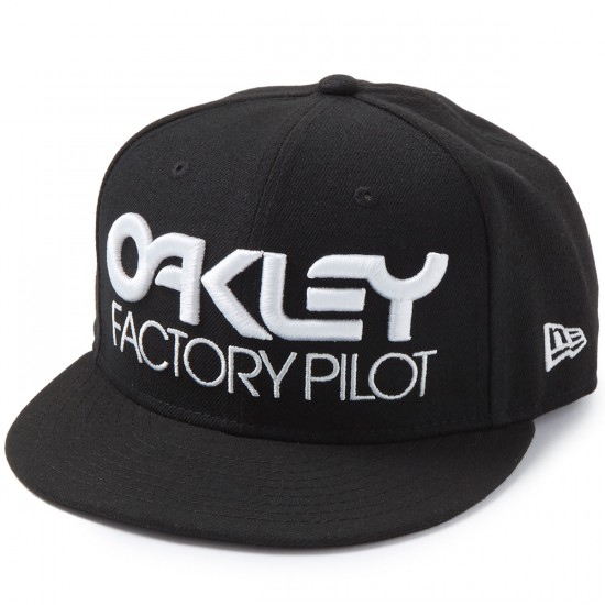 Oakley FP Novelty Snapback Hat - Jet Black