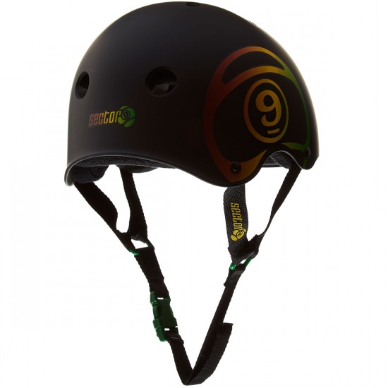 Sector 9 Logic II Brainsaver Helmet - Black