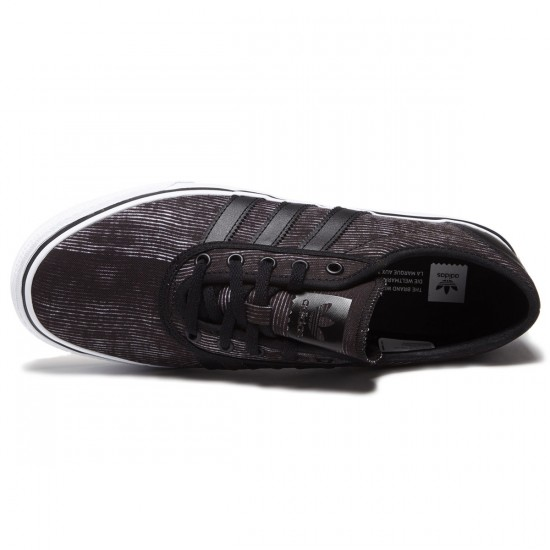 Adidas adi Ease Shoes - Black/White/Gum - 8.0