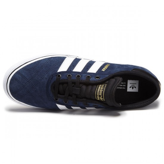 Adidas Adi-Ease Premiere Shoes - Navy/White/Black - 7.5