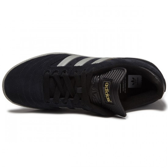 Adidas Busenitz Shoes - Black/Grey/Gold - 8.0
