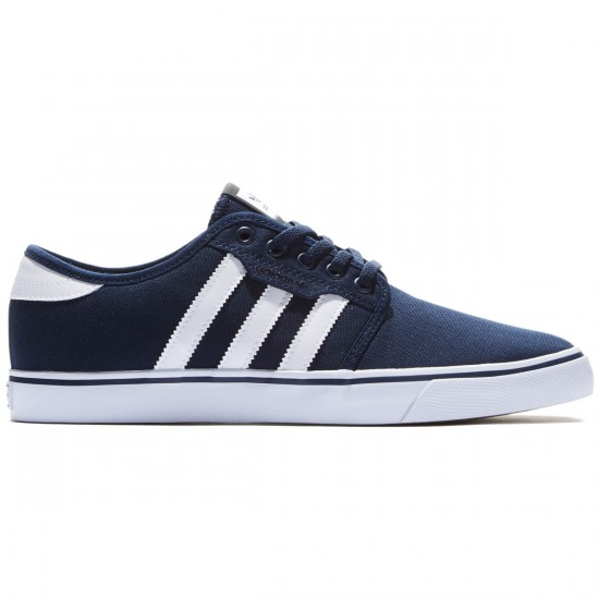 Adidas Seeley Shoes - Navy/White/Black - 8.0