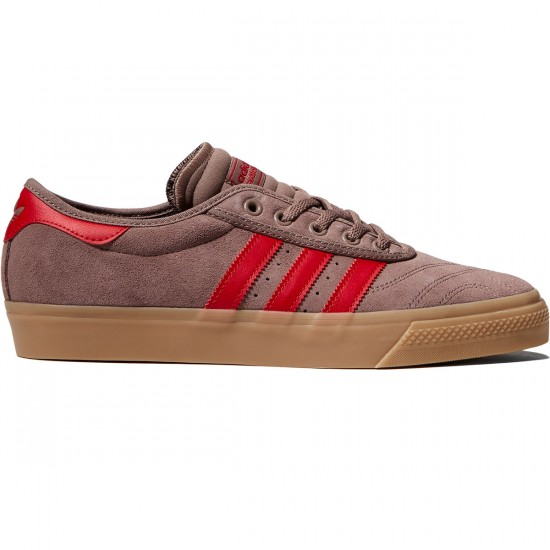 Adidas Adi-Ease Premiere ADV Shoes - Trace Brown/Scarlet/Gum - 10.0