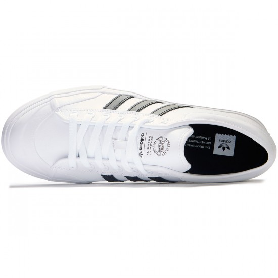 Adidas Matchcourt Shoes - White/Black/Gum - 8.0