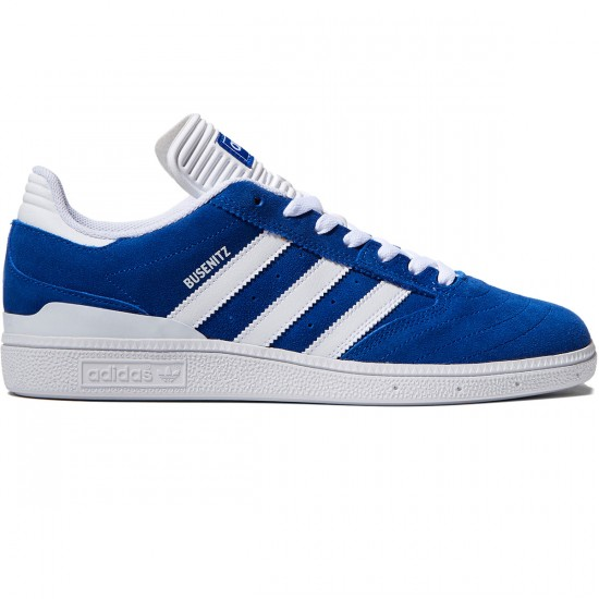 Adidas Busenitz Shoes - Royal/White/White - 10.0