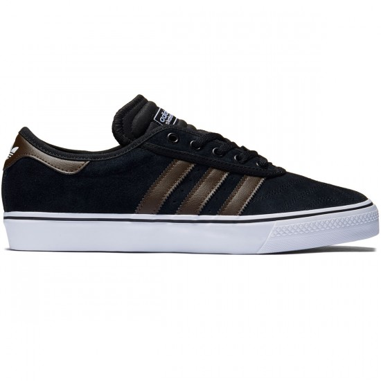 Adidas Adi-Ease Premiere Shoes - Black/Brown/White - 8.0