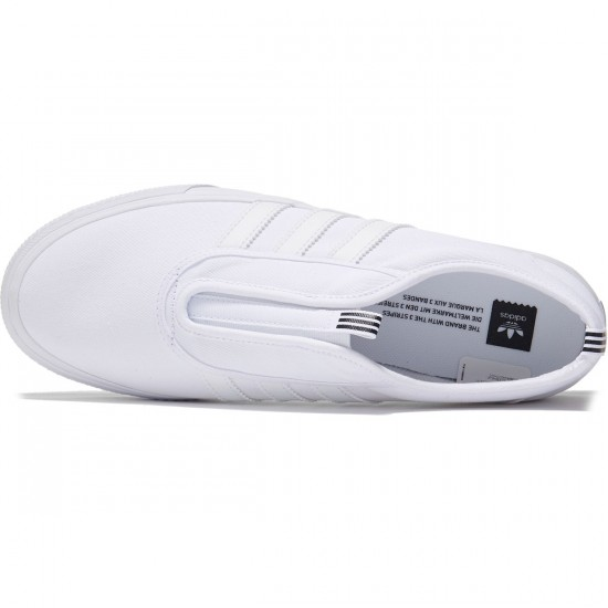 Adidas Adi-Ease Kung Fu Shoes - White/Black/White - 7.0