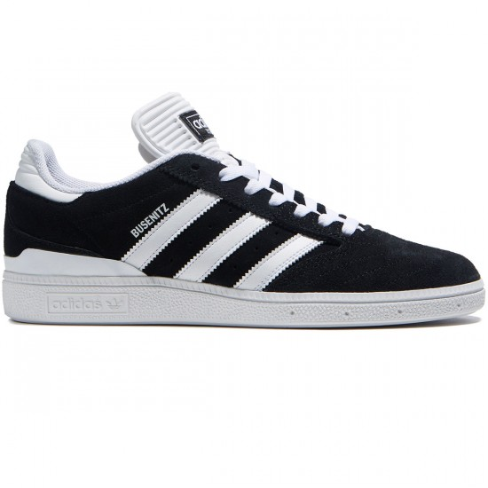 Adidas Busenitz Shoes - Black/White/White - 7.0