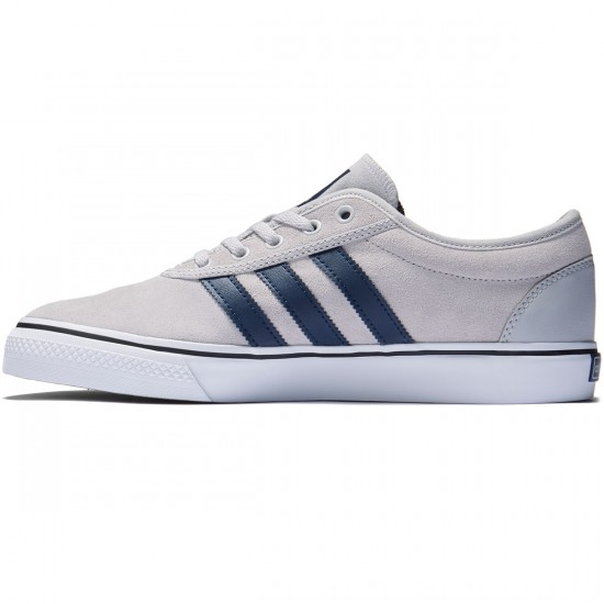 Adidas adi Ease Shoes - Solid Grey/Collegiate Navy/White - 8.0