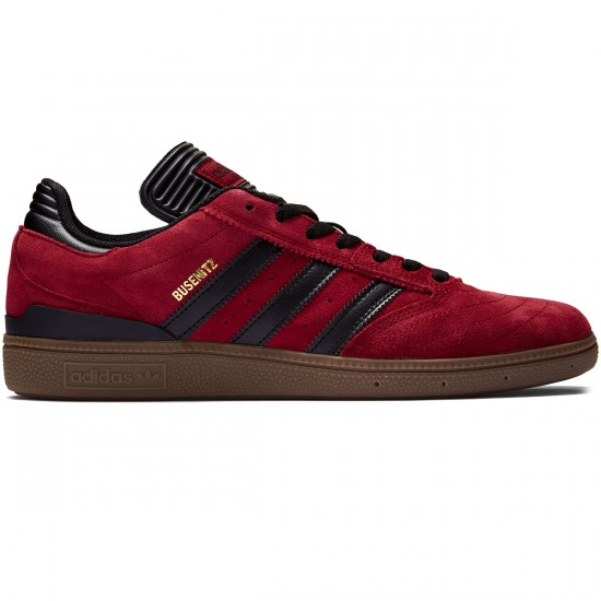 Adidas Busenitz Shoes - Collegiate Burgundy/Black/Gum - 8.0