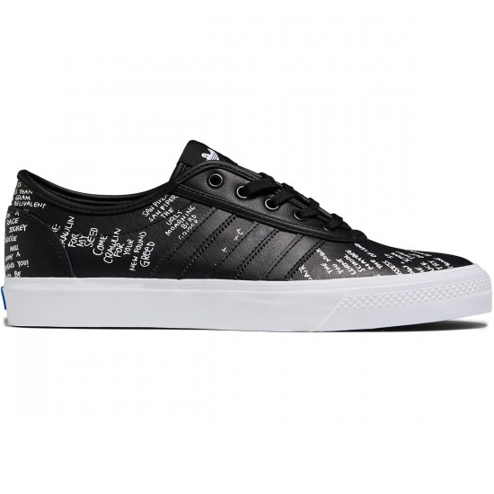 Adidas Adi-Ease Classified Shoes - Black/White/Bluebird - 8.0