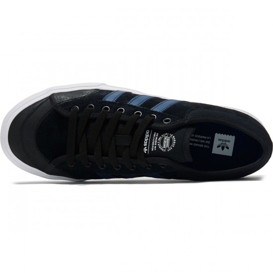Adidas Matchcourt Shoes - Black/Blue/White - 9.0