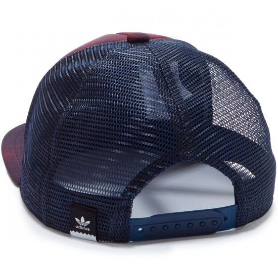 Adidas Blackbird Trucker Hat - Navy/Maroon