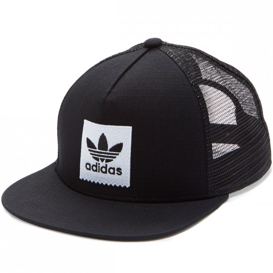 Adidas Blackbird Trucker Hat - Black