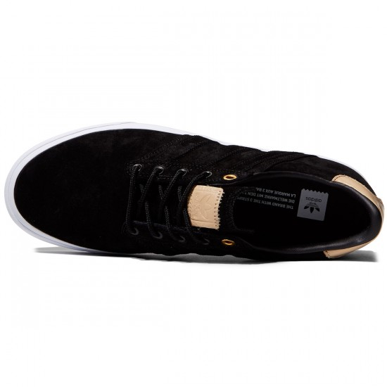 Adidas Seeley Premiere Classified Shoes - Black/Supplier/White - 10.0