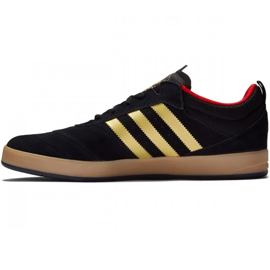 Adidas Suciu ADV Shoes - Black/Gold Foil/Gum - 8.0