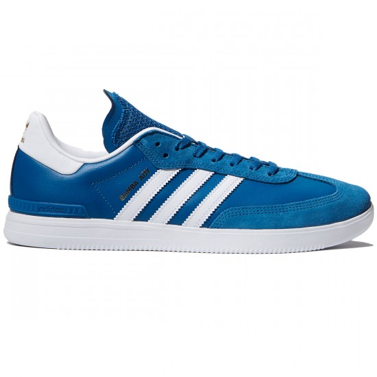 Adidas Samba ADV Shoes - Blue/White/Bluebird - 10.0