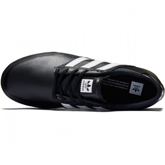 Adidas Seeley Premiere Shoes - Black/White/Black - 7.0