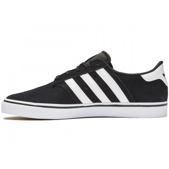Adidas Seeley Premiere Shoes - Black/Black/Solid Grey - 8.0