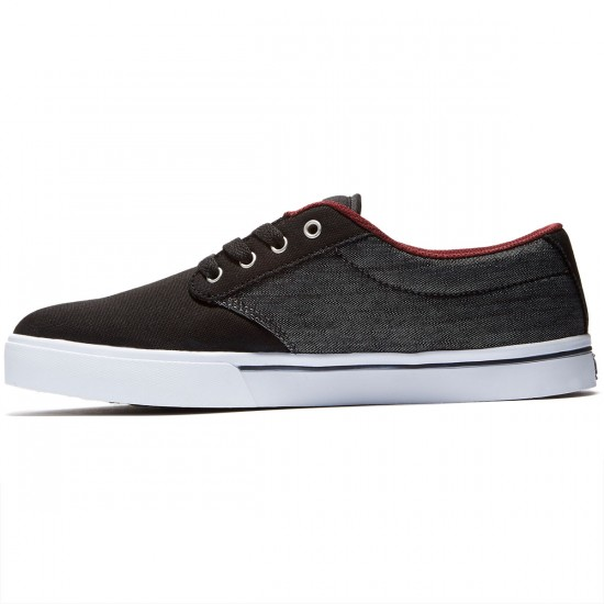 Etnies Jameson 2 ECO Shoes - Black/Red/Black - 8.0