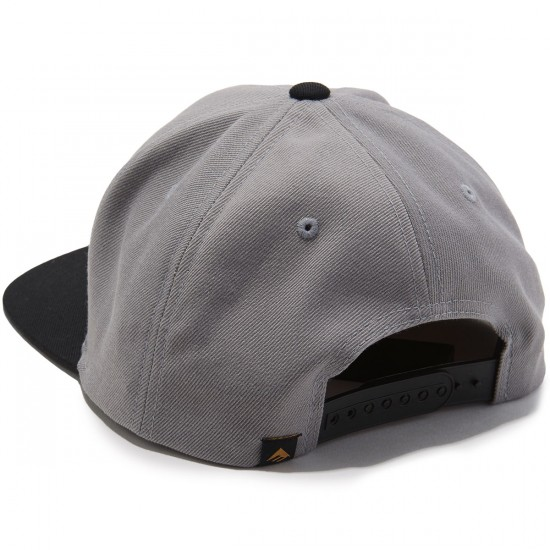 Emerica Pure Snapback Hat - Grey/Black