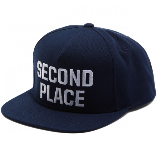 Emerica Second Place Snapback Hat - Blue