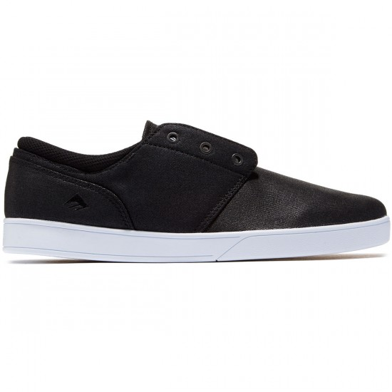 Emerica The Figueroa Shoes - Black/White/Black - 8.0
