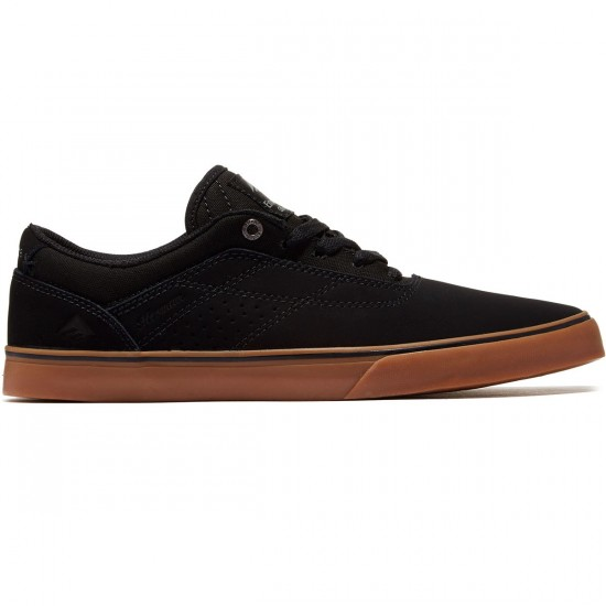 Emerica The Herman G6 Vulc Shoes - Black/Black/Gum - 8.5