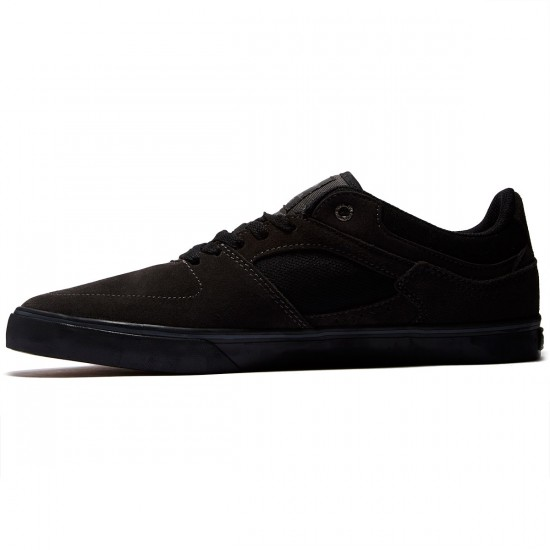 Emerica The Hsu Low Vulc Shoes - Dark Grey/Black - 8.5