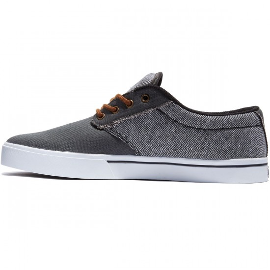 Etnies Jameson 2 ECO Shoes - Dark Grey/Black/White - 8.0