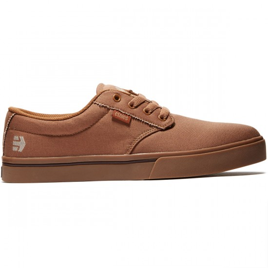Etnies Jameson 2 ECO Shoes - Brown/Brown/Gum - 8.0
