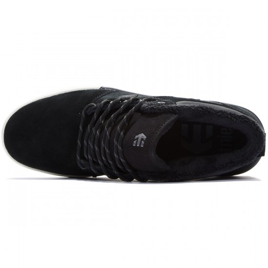 Etnies Jefferson Mid Shoes - Black/Dark Grey - 8.5
