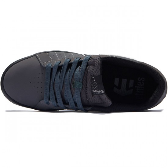 Etnies Fader LS Shoes - Dark Grey/Black - 8.0