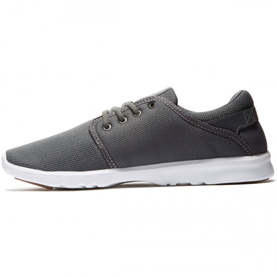 Etnies Scout Shoes - Grey/White/Gum - 8.0
